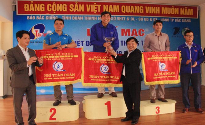 Giải Việt dã Báo Bắc Giang lần thứ 36 năm 2017: Tân Yên lần đầu tiên đoạt Cúp vô địch
